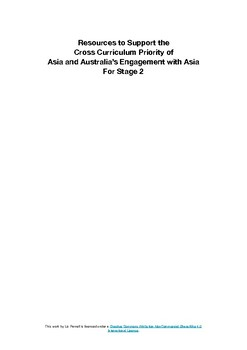 Resource list for Asia and Australia's Engagement with Asia