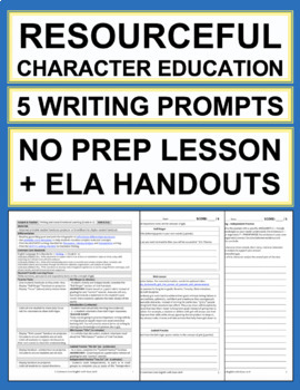 Resourcefulness Activities: 5 Writing Prompts