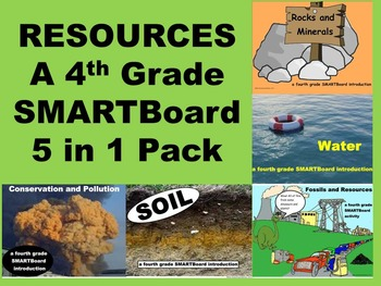 Resources - A Fourth Grade SMARTBoard 5 in 1 Jumbo Pack
