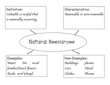Resources Graphic Organizer