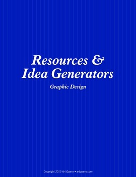 Resources & Idea Generator