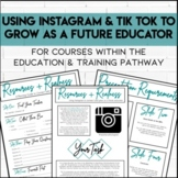 Resources and Realness: Using Instagram to Grow as a Future Teacher