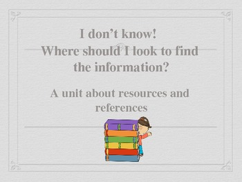 Resources and ReferencesTest Prep Powerpoint