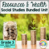 Resources and Wealth Bundled Unit- SK Outcomes RW3.1, RW3.