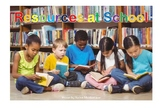 Resources at School (with guided reading insert)
