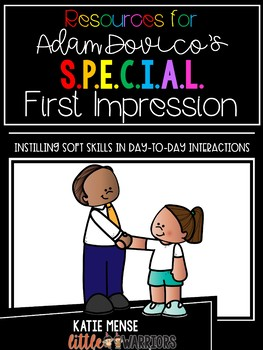 Resources for Adam Dovico's S.P.E.C.I.A.L. First Impression