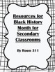 Resources for Black History Bundle