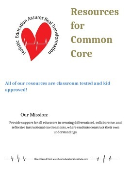 Resources for Common Core Standards
