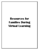 Resources for Families During Virtual Learning