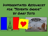 """""""Seventh Grade"""" by Gary Soto-Differentiated Resources"""