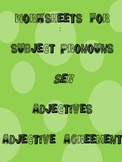 Resources for Spanish Teachers (ser, adjectives, adjective agreement)