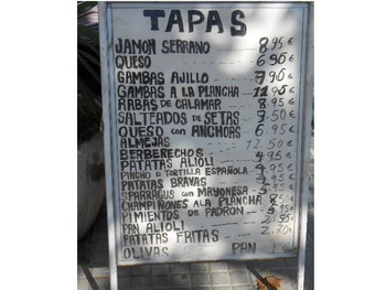 Resources for Spanish teachers (food unit/menus/realia/bell-ringers)
