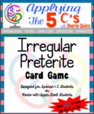 Resources for Spanish teachers (irregular preterite game)