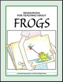 Frogs: Activities, Puzzles, a Word Wall, Math Worksheets, Parent Letters, & More
