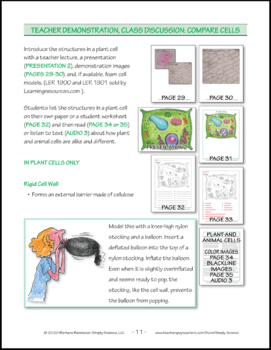 Resources for Teaching about Cells