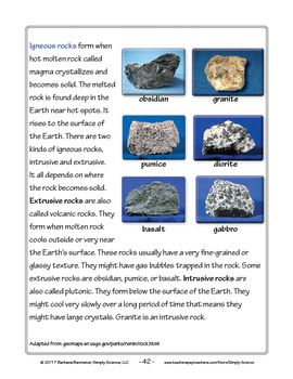 Resources for Teaching about Rocks