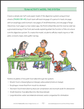 Resources for Teaching about the Digestive System