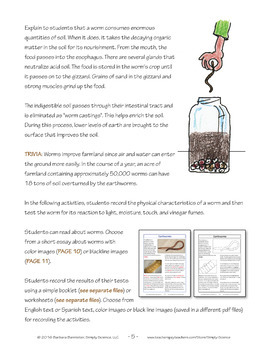 Resources for an Earthworm Study
