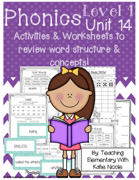 Level 1 Unit 14: Resources for reviewing word structure an