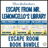 Escape Room Party Bundle for Mr. Lemoncello's Library Books