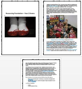 Resourcing Foundation - Year 2 Drama