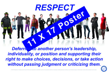 Respect 11 X 17 Poster