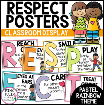 Respect Acrostic Poem - Classroom Poster Display