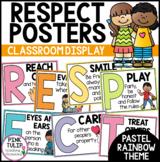 Respect Acrostic Poem Poster Set - Classroom Decor