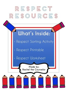 Respect Activity and Worksheet