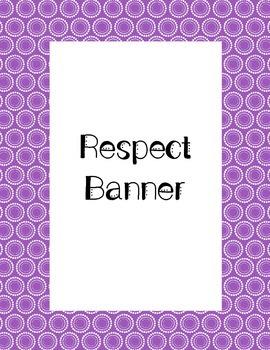 Respect Banner
