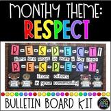 Respect Bulletin Board | PBIS Bulletin Board | Respect | Character Education