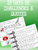 Character Education- Respect Chain: Daily Quotes & Challenges