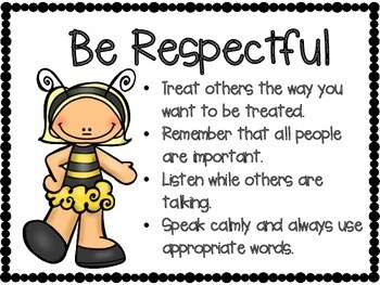 Respect- Character Education Resources- Bee Themed- FREEBIE!