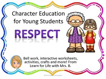 Respect: Character Education for Young Students