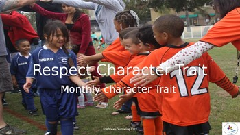 Respect Character Trait