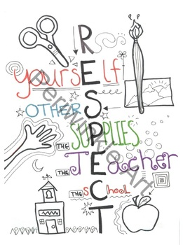 Respect Classroom Poster