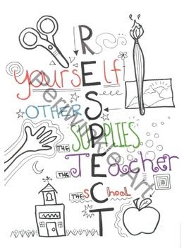Respect Classroom Poster
