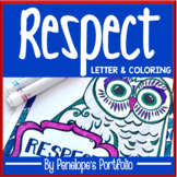 Respect Activity:  Respect Letter & Respect Coloring Pages / Respect Posters