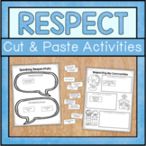 Respect Cut And Paste Activities
