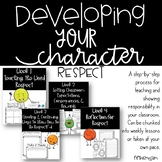 Respect - Developing Your Character Lesson Packet