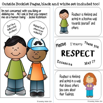 Respect Flip-Flap Booklet