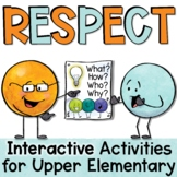 Respect Lesson and Activities Includes Interactive Google Slides (TM)