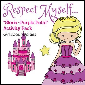 "Respect Myself... - Girl Scout Daisies - ""Gloria - Purple Petal"" Pack (Step 3)"