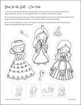 "Respect Myself... - Girl Scout Daisies - ""Gloria - Purple Petal"" Pack (Step 3)"