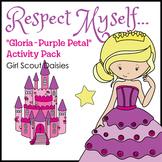 "Respect Myself... - Girl Scout Daisies - ""Gloria - Purple"