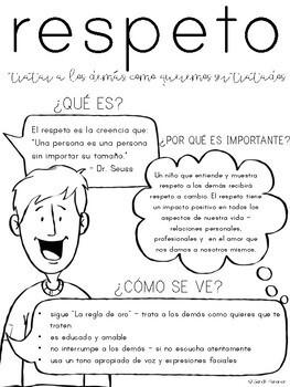 Respect Parent Letter - SPANISH