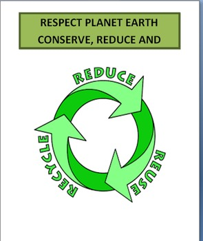 Respect Planet Earth-lesson plan-2 activities