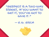 Respect Poster for your Classroom