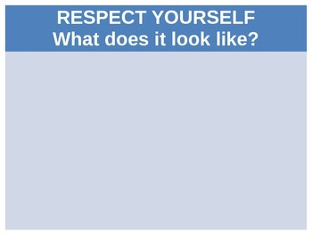 Respect Posters with Student Input -  Classroom Behavior
