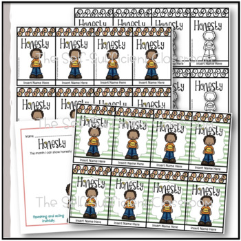 Respect Punch Card- Character Trait Transformation